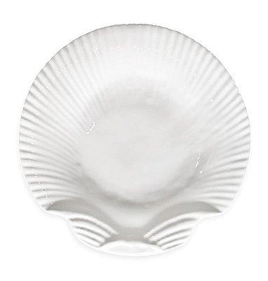 Prato raso Shell Branco