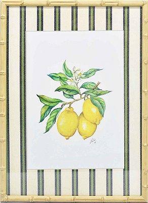 Quadro Limão siciliano 7 Zanatta Casa