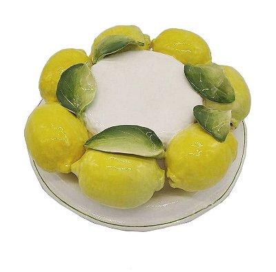 Chapéu com aplicação de Limões Sicilianos Zanatta Casa