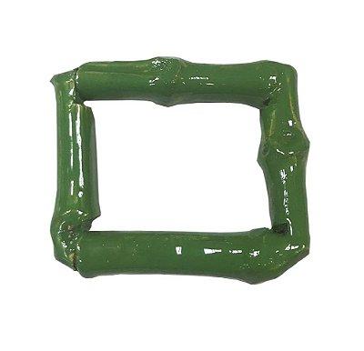 Porta Guardanapo quadrado de Bambu verde (2 unidades)
