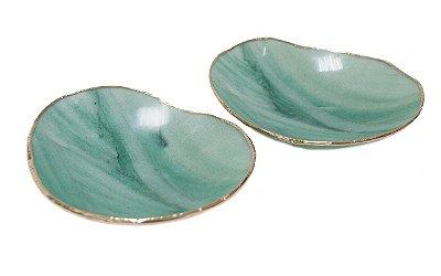 Bowl ágata verde (dupla)