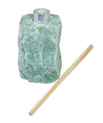 Difusor em quartzo verde