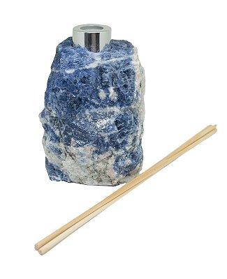 Difusor em sodalita azul