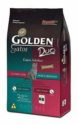 RAÇÃO GOLDEN GATOS DUO CORDEIRO & SALMÃO - 3kg