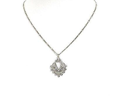 Colar Armazem RR Bijoux curto prata
