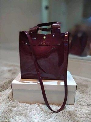 Bolsa Essential Tote Bag - Bordô