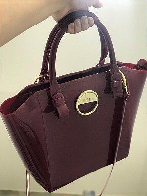 Bolsa Casual Luxo - Bordô