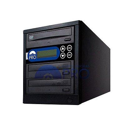 Duplicadora de DVD e CD com 3 Gravadores Sony 7240s