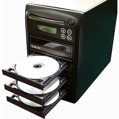 Duplicadora de DVD e Cd com 4 Gravadores Asus DL