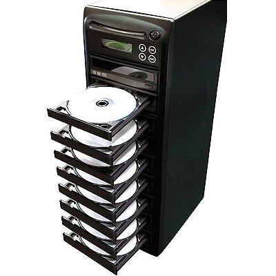 Duplicadora de DVD e Cd com 9 Gravadores Asus - Grava Midias Dual Layer até 8.5GB
