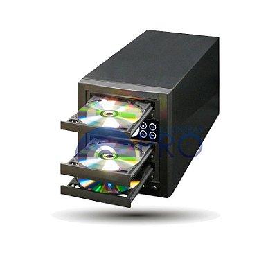 Duplicadora de CD e DVD com 03 Gravadores Pioneer