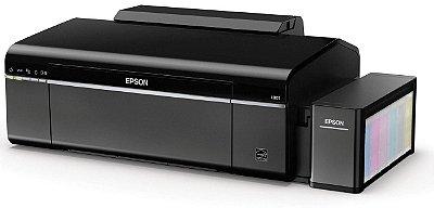 Impressora de DVD e CD Epson EcoTank L805 Tanque de Tinta Original Epson