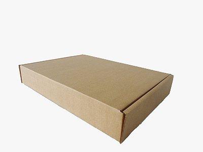 Caixa de papelão tipo Sedex número 3 para e-commerce PCT com 50 UND