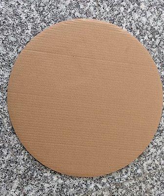 Disco de papelão onda B/C 500mm de diametro 670gr