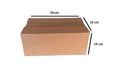Kit com 50 caixas de papelão para o Correio número 2 ( Valor unitário: R$ 0,75 )
