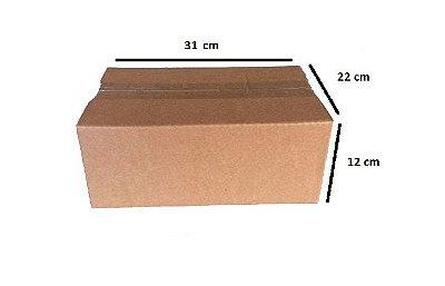 Kit com 50 caixas de papelão para o Correio número 4 ( Valor unitário: R$ 1,20 )