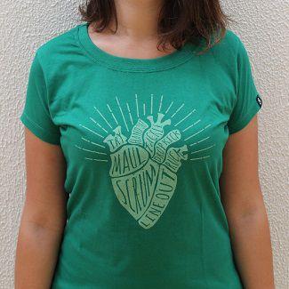 Camiseta Coração Try73