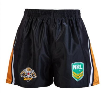 Shorts NRL West Tigers