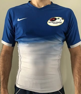 Camisa Band Saracens 2016 Away Nike