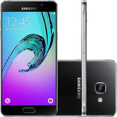 "Smartphone Samsung Galaxy A5 2016 Dual Chip Android 5.1 Tela 5.2"" 16GB 4G Câmera 13MP - Preto"