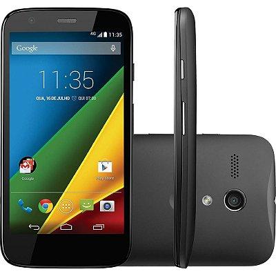 "Smartphone Motorola Moto G Desbloqueado Android 4.3.3 Tela 4.5"" 8GB 4G Wi-Fi Câmera 5MP - Preto"