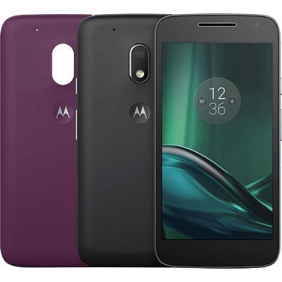 Smartphone Moto G 4 Play DTV Colors Dual Chip Android 6.0 Tela 5'' 16GB Câmera 8MP - Preto