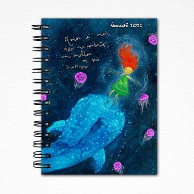 Baleia Espiral - Agenda Namastê 2022