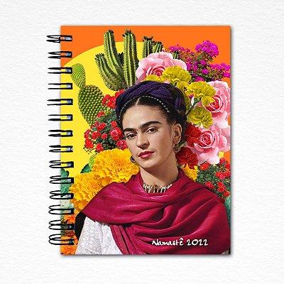 Frida Kahlo Espiral - Agenda Namastê 2022