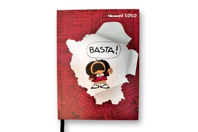 Capa Mafalda Costurada - Agenda Namastê 2020