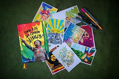 Agenda Raoni Livro + Kit Postal