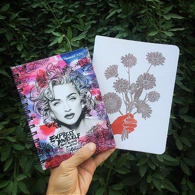 Agenda Madonna Espiral + Caderno A5 Buque