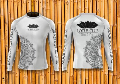 Rash Guard Lotus (Branca)