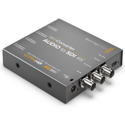 Miniconversor Áudio para SDI 4K
