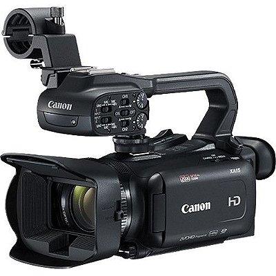 Filmadora Canon XA15 Compact Full HD com SDI, HDMI e Saída Composto