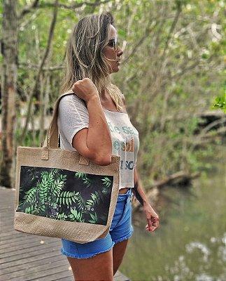Bolsa Juta Natural - Mais Verde
