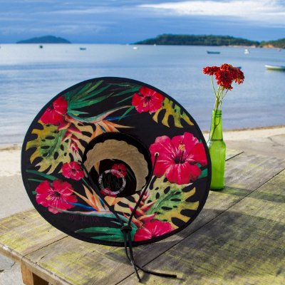 Chapéu de Palha - Hibisco