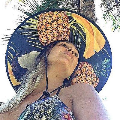 Chapéu de Palha - Frutas Tropicais