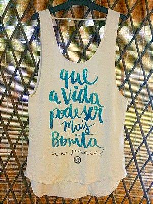 SAÍDA DE PRAIA - Que a vida pode ser mais bonita...
