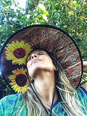 Chapéu de Palha - Girassol