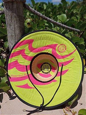 Chapéu de Palha - Neon Limão