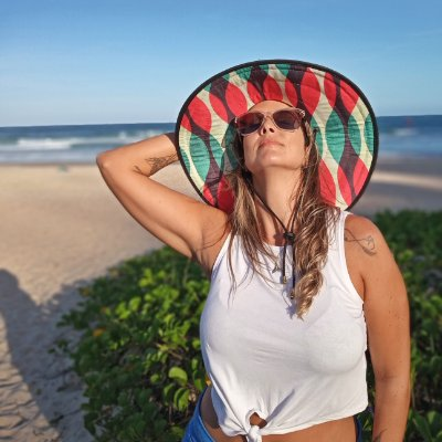 Chapéu de Palha - Ondas Color