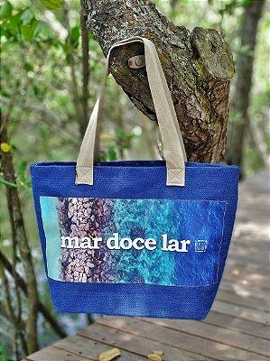 Bolsa Juta Azul - Mar Doce Lar