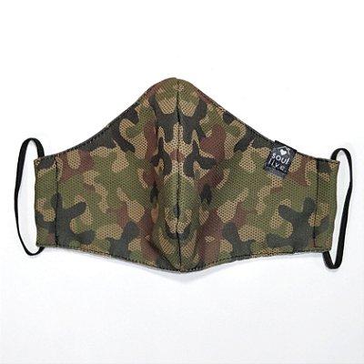 Máscara de Proteção - Camuflada