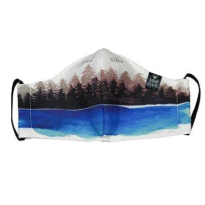 Máscara de Proteção - Lago Azul