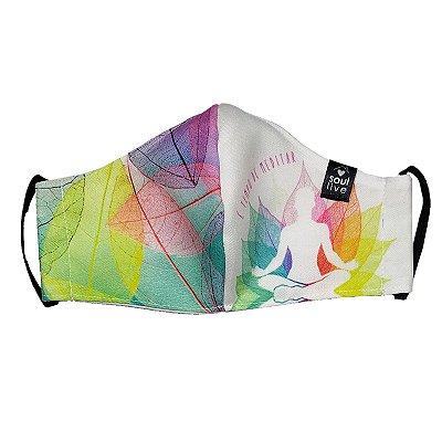Máscara de Proteção - Tempo de Meditar