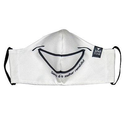 Máscara de Proteção - Sorriso Branca