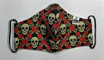 Máscara de Proteção - Caveirinhas