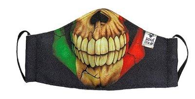 Máscara de Proteção - Boca de Caveira