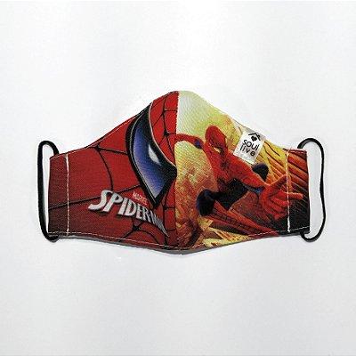 Máscara de Proteção Infantil - Spiderman