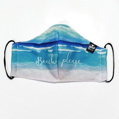 Máscara de Proteção - Beach Please